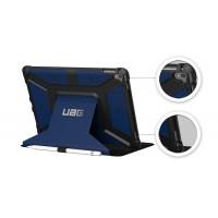 Противоударный двухкомпонентный силиконовый чехол с пластиковым бампером и подставкой для планшета Ipad Pro 9.7 Синий
