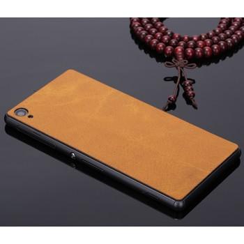 Клеевая кожаная накладка для Sony Xperia Z3