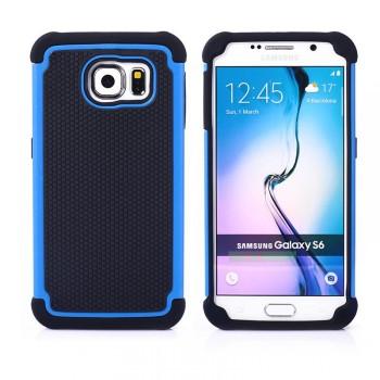 Силиконовый двухкомпонентный чехол экстрим защита для Samsung Galaxy S6
