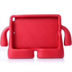 Детский ультразащитный гиппоаллергенный силиконовый фигурный чехол для планшета Ipad Air Красный