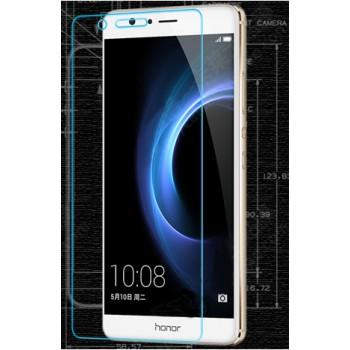 Ультратонкое износоустойчивое сколостойкое олеофобное защитное стекло-пленка для Huawei Honor V8