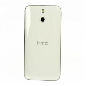 Силиконовый транспарентный чехол для HTC One E8 Белый