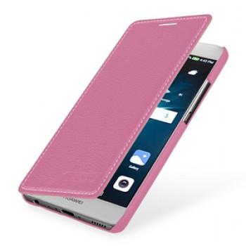 Кожаный чехол горизонтальная книжка (премиум нат. кожа) для Huawei P9