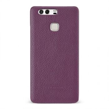 Кожаный чехол накладка (премиум нат. кожа) для Huawei P9