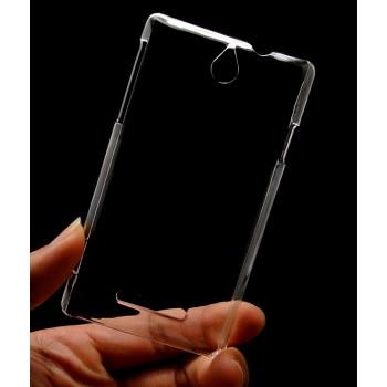 Пластиковый транспарентный чехол для Sony Xperia E