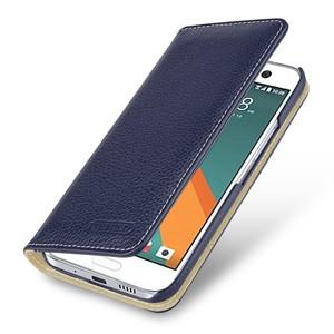 Кожаный чехол портмоне (премиум нат. кожа) для HTC 10