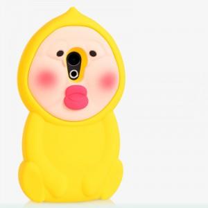 Силиконовый матовый непрозрачный дизайнерский фигурный чехол для Meizu Pro 6