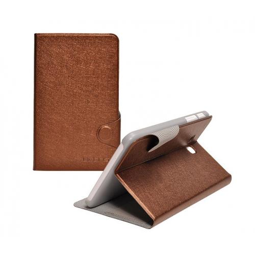 Чехол подставка с застежкой на пластиковой основе серия Glossy Shield для планшета Lenovo S5000
