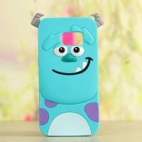 Силиконовый матовый непрозрачный дизайнерский фигурный чехол для Samsung Galaxy S7