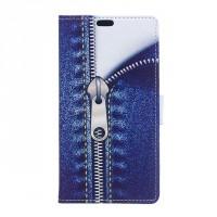 Чехол портмоне подставка на силиконовой основе с полноповерхностным принтом на магнитной защелке для Alcatel Pixi 4 (5) 4G 5045d 5045x
