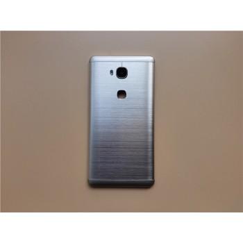 Пластиковый непрозрачный матовый встраиваемый чехол текстура Металл для Huawei Honor 5X