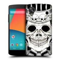 Пластиковый чехол с принтом Cats&Sculls для Nexus 5