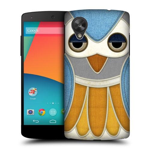 Пластиковый чехол с принтом Animals для Nexus 5 Птица