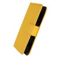 Чехол книжка-портмоне для Sony Xperia E dual Желтый