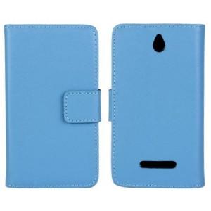 Чехол книжка-портмоне для Sony Xperia E dual