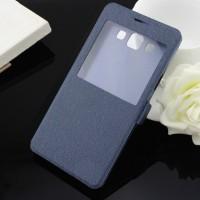 Чехол флип на пластиковой основе серия Crystal Rear для Samsung Galaxy A5 Синий