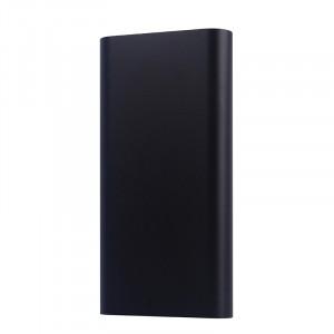 Портативное зарядное устройство в матовом металлическом корпусе 20800 mAh Черный