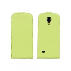 Чехол книжка вертикальная для Samsung Galaxy S4 Mini Зеленый