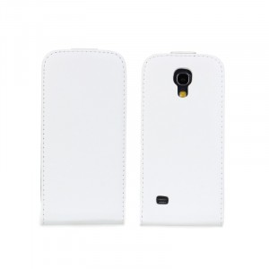 Чехол книжка вертикальная для Samsung Galaxy S4 Mini Белый