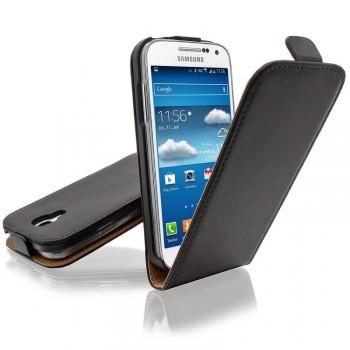 Чехол книжка вертикальная для Samsung Galaxy S4 Mini