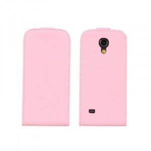 Чехол книжка вертикальная для Samsung Galaxy S4 Mini Розовый