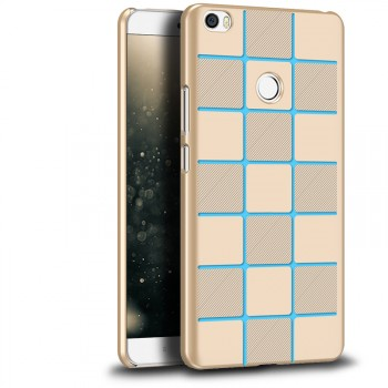 Пластиковый непрозрачный матовый чехол для Xiaomi Mi Max
