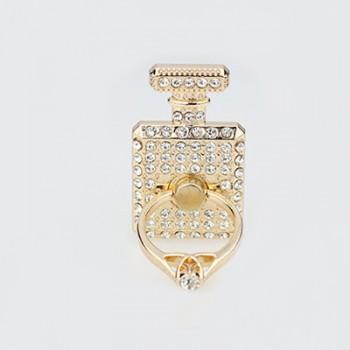Клеевое дизйнерское кольцо-подставка со стразами