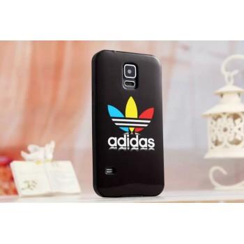 Силиконовый матовый непрозрачный чехол с принтом для Samsung Galaxy S5 (Duos)