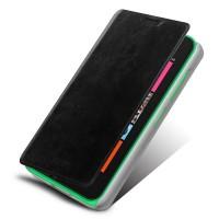Чехол флип подставка водоотталкивающий для Nokia Lumia 530 Черный
