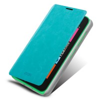 Чехол флип подставка водоотталкивающий для Nokia Lumia 530 Голубой