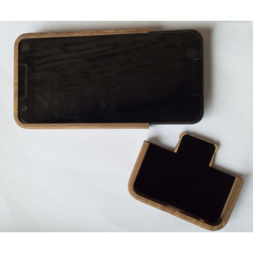 Натуральный деревянный чехол сборного типа с лазерным принтом для Google LG Nexus 5X