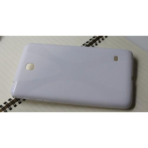 Силиконовый чехол X для Samsung Galaxy Tab 4 7.0 Фиолетовый