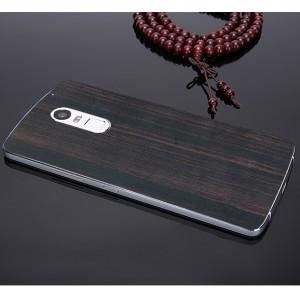 Клеевая натуральная деревянная накладка для Lenovo Vibe X3