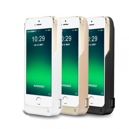 Пластиковый чехол/экстра аккумулятор (4200 мАч) с функцией дополнительного заряда внешних устройств для Iphone 5/5s/SE
