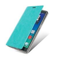 Чехол флип подставка водоотталкивающий для Lenovo Vibe Z2 Pro K920 Голубой