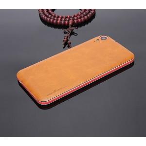 Экстратонкая клеевая кожаная накладка для HTC Desire 830