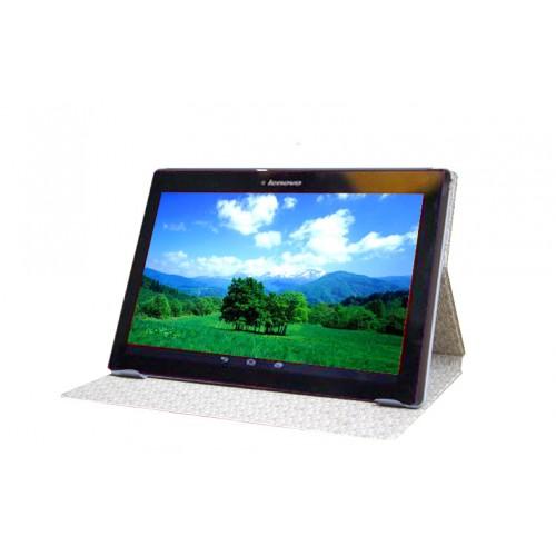 Чехол книжка подставка на непрозрачной поликарбонатной основе с полноповерхностным принтом для Lenovo Tab 2 A10-30
