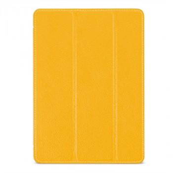 Кожаный смартчехол книжка подставка (премиум нат. кожа) сегментарный для Ipad Pro 9.7