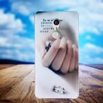 Силиконовый матовый непрозрачный чехол с принтом для Umi Super