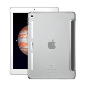 Двухкомпонентный противоударный премиум чехол накладка силикон/поликарбонат совместимый со Smart Keyboard для Ipad Pro 9.7 Белый