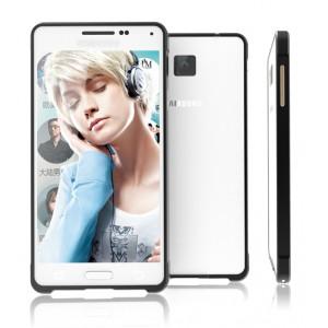 Металлический бампер для Samsung Galaxy Alpha Черный