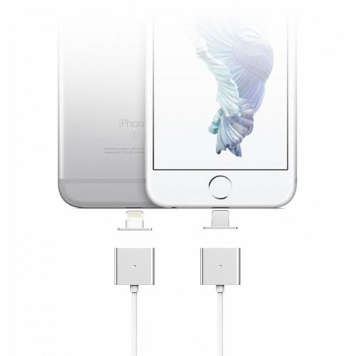 Эксклюзивный инновационный магнитный зарядный симметричный смарт-кабель USB-Lightning 1м для мгновенного подсоединения гаджета