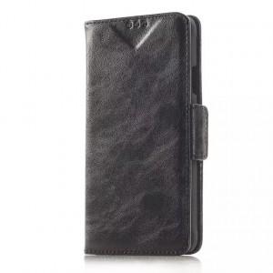 Чехол портмоне подставка с защелкой для Samsung Galaxy Alpha