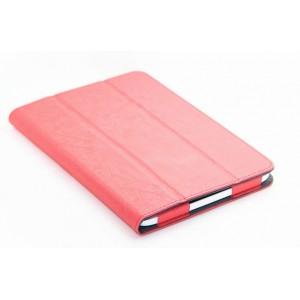 Чехол подставка сегментарный с рамочной защитой для планшета ASUS MEMO Pad 8 ME181C Красный