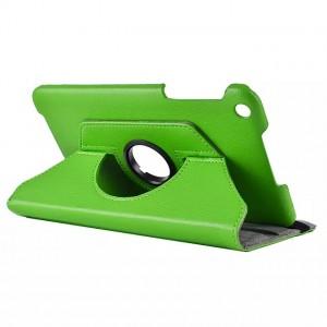 Чехол подставка роторный для ASUS MEMO Pad 8 ME181C Зеленый
