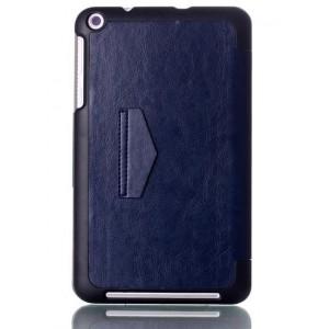 Чехол подставка на плстиковой основе для планшета ASUS MEMO Pad 8 ME181C Синий