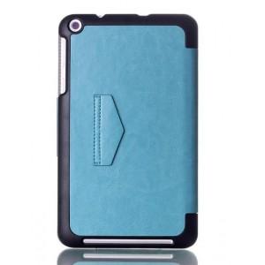 Чехол подставка на плстиковой основе для планшета ASUS MEMO Pad 8 ME181C Голубой