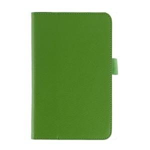 Чехол подставка с рамочной защитой серия Full Cover для ASUS MemoPad 7 ME176C Зеленый