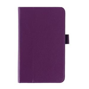 Чехол подставка с рамочной защитой серия Full Cover для ASUS MemoPad 7 ME176C Фиолетовый