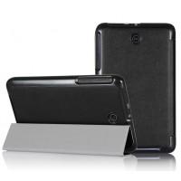 Чехол смарт флип подставка сегментарный для планшета ASUS MemoPad 7 ME176C Черный
